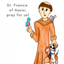 Magnet: St. Francis of Assisi