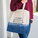 Redefining Strong Ombre Canvas Tote