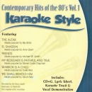 Karaoke Style: Contemporary Hits of the 80's, Vol. 1 image