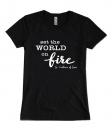 Set the World on Fire, St. Catherine of Siena, T-shirt (Small)