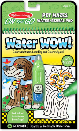 On The Go Water Wow! Pet Mazes