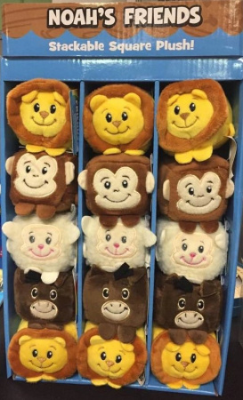 Noah's Friends Plush Toy (30 Unit Case)