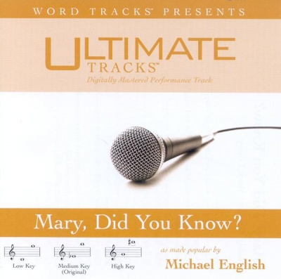 Mary Did You Know? (Ampb: Michael English)