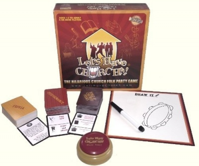 """LET'S HAVE CHURCH!!!"" The Hilarious Game About Church Folk!"