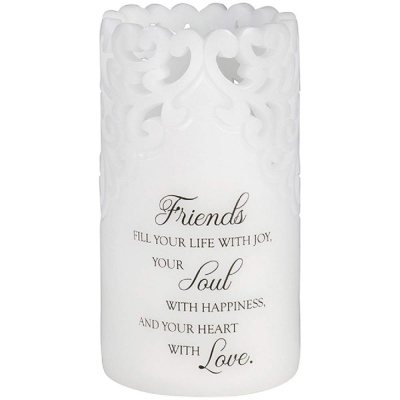 Friends Flameless Candle