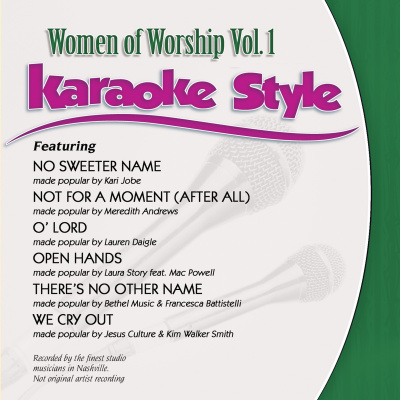 Karaoke Style: Women Of Worship Vol. 1