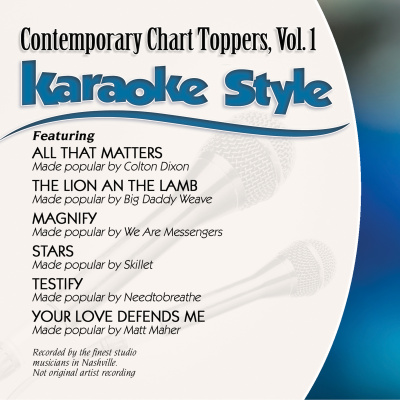 Karaoke Style: Contemporary Chart Toppers Vol. 1