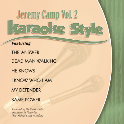 Karaoke Style: Jeremy Camp Vol. 2