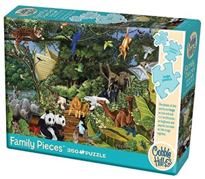 Noah's Gathering 350 Family Piece Puzzle