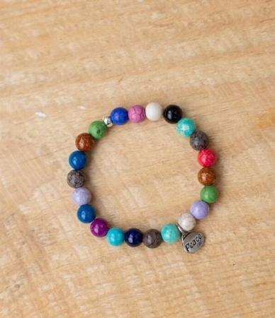 Peace Multi-Colored Bracelet