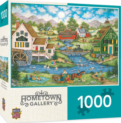 Hometown Gallery: Millside Picnic 1000 Piece Puzzle