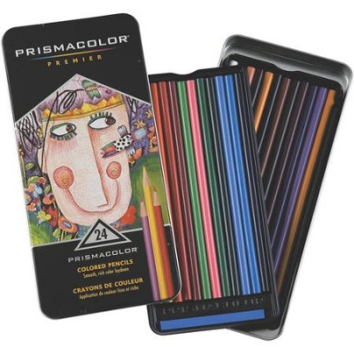 Prisma Colored Pencils Tin 24ct