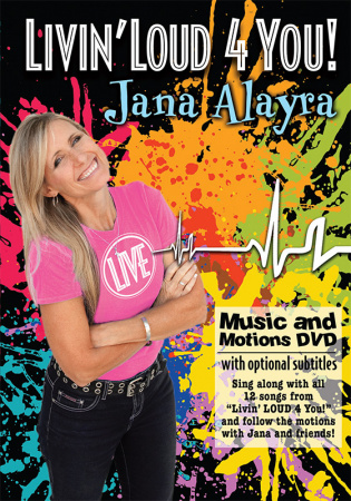 Livin' Loud 4 You! Music and Motions DVD
