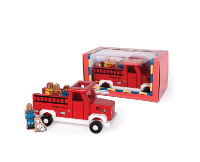 Magnetic Fire Truck