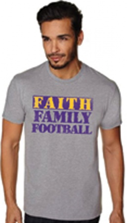 Faith Family Football: LSU (X-Large)