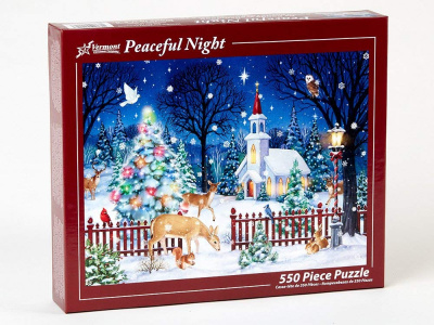 Peaceful Night Jigsaw Puzzle (550 Piece)