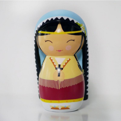Saint Kateri Tekakwitha Shining Light Doll
