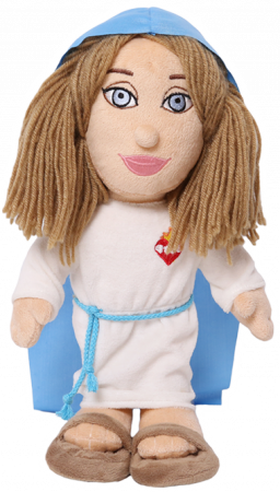 Mary Plush Doll
