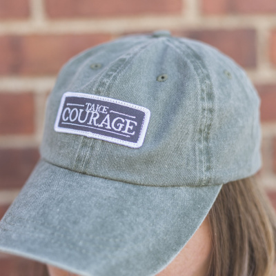 Take Courage Hat in Olive