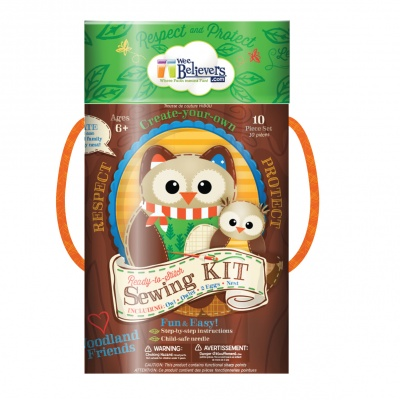 Woodland Sewing Kit