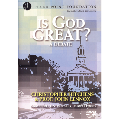 Is God Great Debate: Christopher Hitchens & John Lennox
