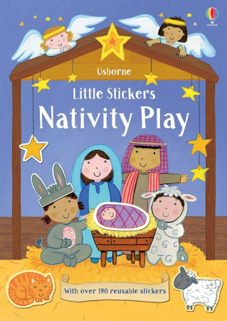 Little Stickers: Nativity Play