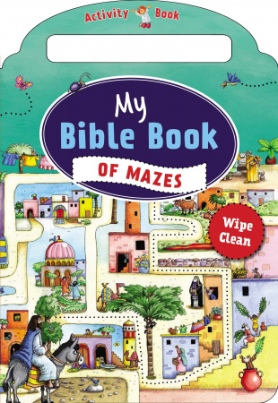 My Bible Book of Mazes