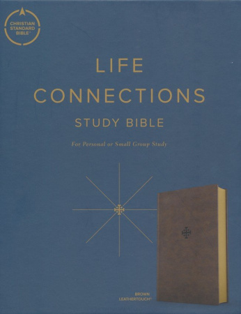 CSB Life Connections Study Bible (Brown)