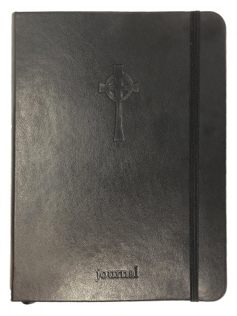 Celtic Cross Black Journal