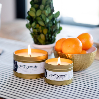 Sweet Surrender Candle in 4 oz | Candied Citrus
