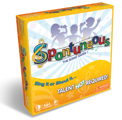 Spontuneous: The Song Game - Sing It or Shout It