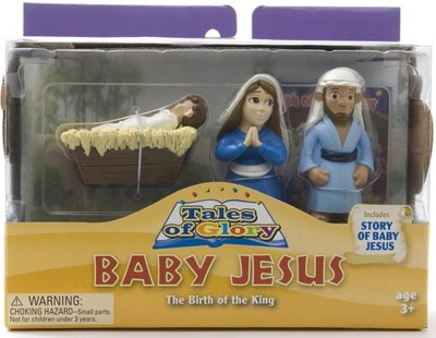 The Birth Of Baby Jesus Play Set
