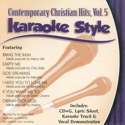Karaoke Style: Contemporary Christian Hits Vol. 5