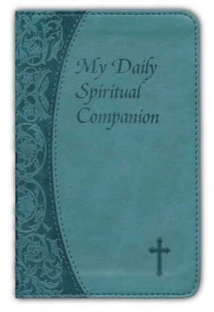 My Daily Spiritual Companion: Leather | Green/Blue