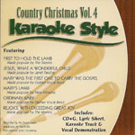 Karaoke Style: Country Christmas, Vol. 4