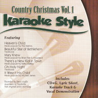 Karaoke Style: Country Christmas, Vol. 1