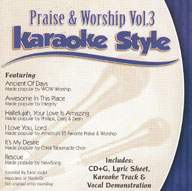 Karaoke Style: Praise and Worship, Vol. 3