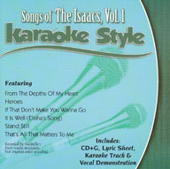 Karaoke Style: Songs of The Isaacs, Vol. 1
