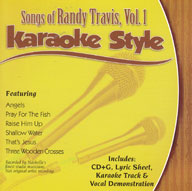 Karaoke Style: Songs of Randy Travis, Vol. 1