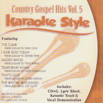 Karaoke Style: Country Gospel Hits, Vol. 5