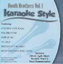 Karaoke Style: Booth Brothers, Vol. 1