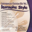Karaoke Style: Contemporary Christian Hits, Vol. 2 image