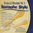 Karaoke Style: Praise and Worship, Vol. 4