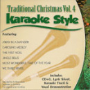Karaoke Style: Traditional Christmas, Vol. 4 image