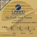 We Exalt Your Name image