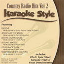 Karaoke Style: Country Radio Hits, Vol. 2 image
