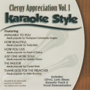 Karaoke Style: Clergy Appreciation, Vol. 1 image