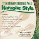 Karaoke Style: Traditional Christmas, Vol. 3 image