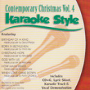Karaoke Style: Contemporary Christmas, Vol. 4 image