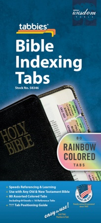 Tabbies for Old & New Testament (Rainbow)